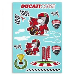 Ducati Aufkleber Cartoon